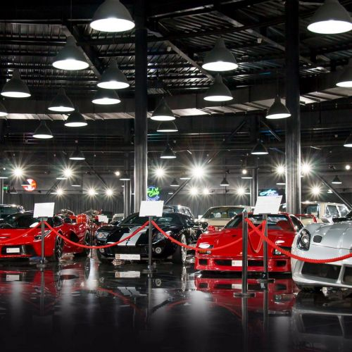 Tiriac Collection - Private Cars Exhibition